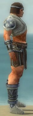 Warrior Gladiator Armor M gray side.jpg