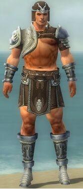 Warrior Gladiator Armor M gray front.jpg