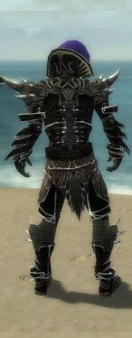 Necromancer Elite Luxon Armor M gray back.jpg