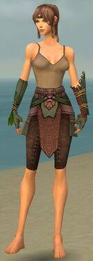 Ranger Druid Armor F gray arms legs front.jpg