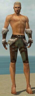 Ranger Elite Fur-Lined Armor M gray arms legs front.jpg