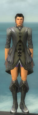 Elementalist Kurzick Armor M gray chest feet front.jpg