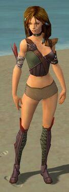 Ranger Tyrian Armor F gray chest feet front.jpg
