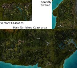 Map of Tarnished Coast