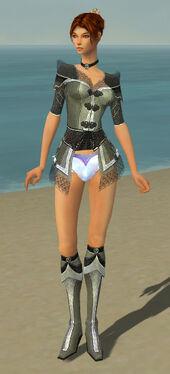 Elementalist Kurzick Armor F gray chest feet front.jpg