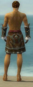 Ranger Elite Canthan Armor M gray arms legs back.jpg