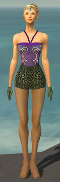 Mesmer Canthan Armor F gray arms legs front.jpg