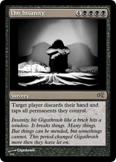 Giga's The Insanity Magic Card.jpg