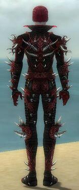 Necromancer Elite Canthan Armor M dyed back.jpg