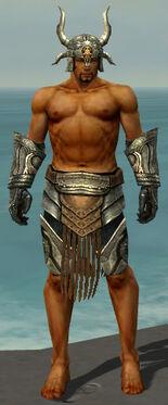 Warrior Elite Sunspear Armor M gray arms legs front.jpg