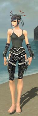 Necromancer Elite Profane Armor F gray arms legs front.jpg