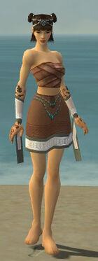 Monk Elite Woven Armor F gray arms legs front.jpg