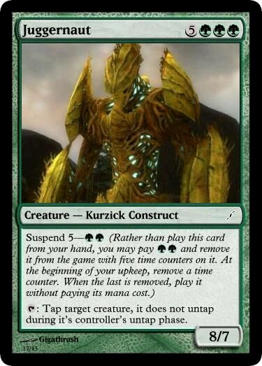 Giga's Juggernaut Magic Card.jpg