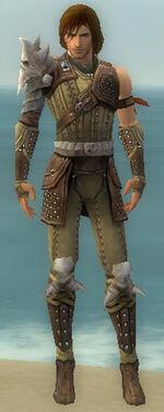 Ranger Studded Leather Armor M gray front.jpg