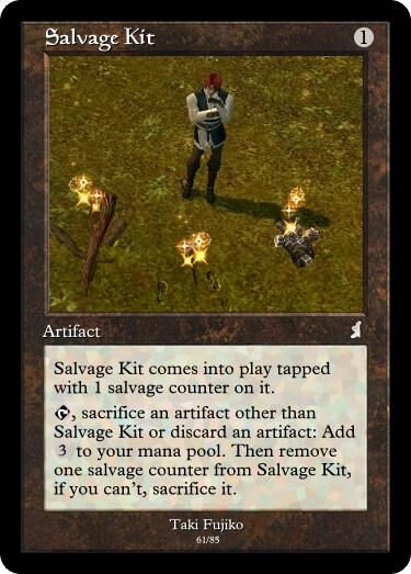 Taki's Salvage Kit Magic Card.jpg