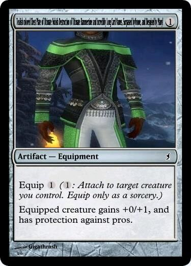 Giga's Tealish colored Chest Plate of Ultimate Nubish Destruction of Ultimate Hammertime and Incredibly Long Card Names Surpassed by None and Dispised by Many Magic Card.jpg