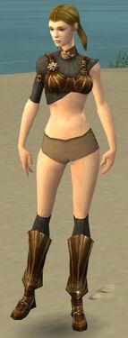 Ranger Sunspear Armor F gray chest feet front.jpg