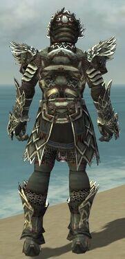 Warrior Silver Eagle Armor M gray back.jpg