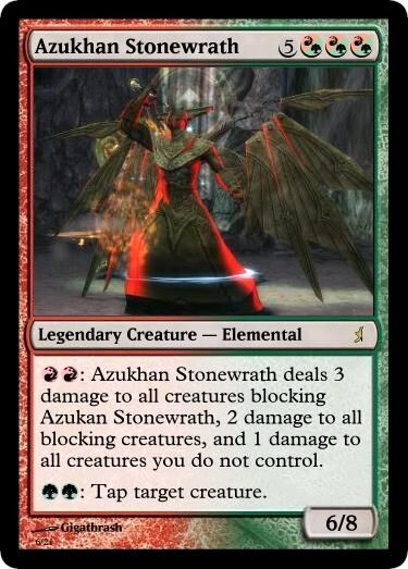 Giga's Azukhan Stonewrath Magic Card.jpg