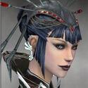Necromancer Elite Kurzick Armor F gray earrings.jpg