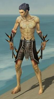 Necromancer Ancient Armor M gray arms legs front.jpg