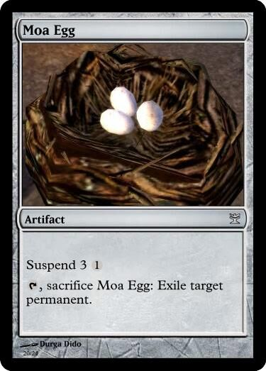 Dido's Moa Egg Magic Card.jpg