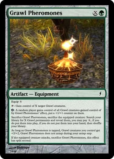 Entropy's Grawl Pheromones Magic Card.jpg