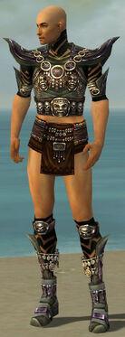 Ritualist Obsidian Armor M gray chest feet front.jpg
