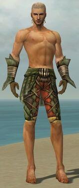 Ranger Elite Drakescale Armor M gray arms legs front.jpg