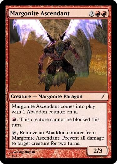 Giga's Margonite Ascendant Magic Card.jpg