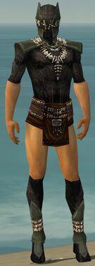Ritualist Kurzick Armor M gray chest feet front.jpg