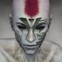 Necromancer Elite Luxon Armor M gray head front.jpg