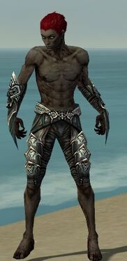Necromancer Monument Armor M gray arms legs front.jpg