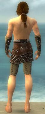 Ranger Studded Leather Armor M gray arms legs back.jpg
