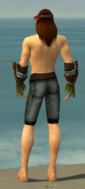 Ranger Druid Armor M gray arms legs back.jpg