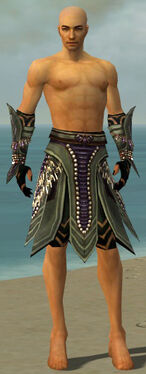 Ritualist Obsidian Armor M gray arms legs front.jpg