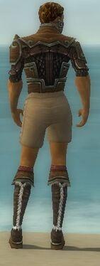 Ranger Elite Canthan Armor M gray chest feet back.jpg
