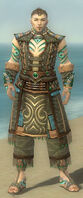 Monk Elite Luxon Armor M gray front.jpg