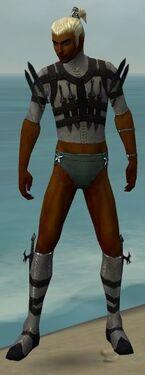 Assassin Obsidian Armor M gray chest feet front.jpg