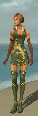 Mesmer Elite Canthan Armor F gray chest feet front.jpg