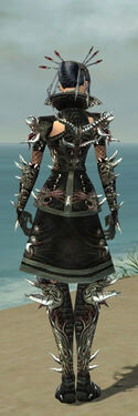 Necromancer Elite Canthan Armor F gray back.jpg