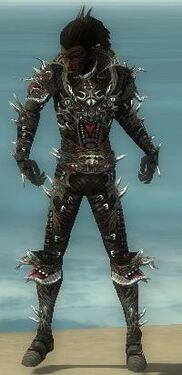 Necromancer Elite Canthan Armor M gray front.jpg