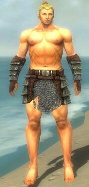 Warrior Krytan Armor M gray arms legs front.jpg