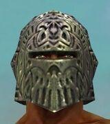 Warrior Elite Platemail Armor M gray head front.jpg