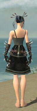 Necromancer Elite Canthan Armor F gray arms legs back.jpg