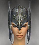 Warrior Elite Gladiator Armor F gray head front.jpg