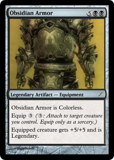Giga's Obsidian Armor Magic Card.jpg