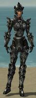 Warrior Obsidian Armor F gray front.jpg