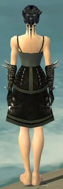 Necromancer Canthan Armor F gray arms legs back.jpg