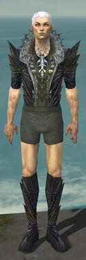 Necromancer Krytan Armor M gray chest feet front.jpg